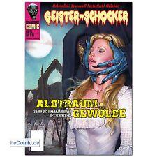 Geister- Schocker 20 COMIC Albtraum Gewölbe Romantruhe HORROR + Hörspiel CD