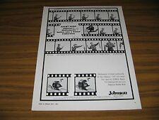 1964 Print Ad Johnson 710 & Sabra Fishing Reels with Shiftamatic Mankato,MN