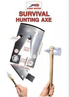 .EDC SURVIVAL CARD AXE / TOMAHAWK Hunting Fishing Credit Card Size Multi-Tool