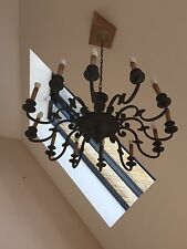 12 arm French/ Flemish Style chandelier in bronze 900mm in diameter a BEAUTY!