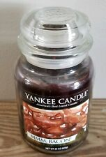 Yankee Candle - Mmm, Bacon! - 22 oz - Collector's Edition Man Candle - Read