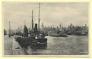 Vintage Printed  Pc  THE HARBOUR, ABERDEEN    315B