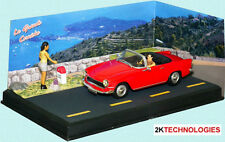 Altaya 1 Simca Oceane Convertable 1/43 Scale Diorama Tracked 48 Post