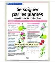 Petit guide AEDIS Dépliant 8 faces éducatif N°11 Se soigner par les plantes NEUF