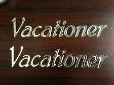 Vacationer  Decals (2) RV Holiday Rambler  NEW