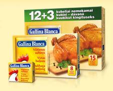 Gallina Blanca Chicken Bouillon 15 Soup Cubes 150g 5.3oz