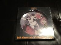 NEW/SEALED - PITTSBURGH PIRATES BILL MAZEROSKI COLLECTORS PLATE - SGA -MINT!
