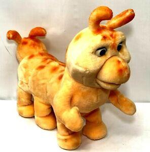 Grubby Teddy Ruxpin Caterpillar Vintage 1985 Toy Plush