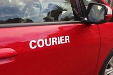 Courier sticker / PVC/ vinyl / decal / Car Truck Ute Van 22 colors to choose