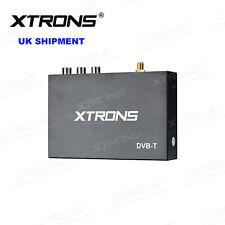 XTRONS In-Car DVB-T Digital TV Tuner Freeview Receiver Box HDMI USB Antenna UK