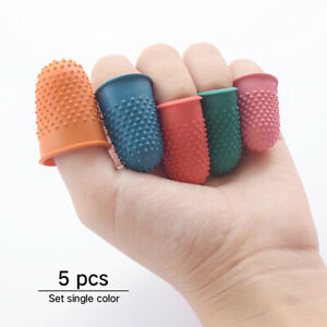 Rubber Sewing Finger Tip Counting Cone Needlework Protector Thimble Craft