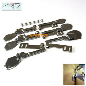 6 Sets Double Fold Clean Finish Swing Hemmer For Juki Ddl-555 8500 8700 BROTHER+