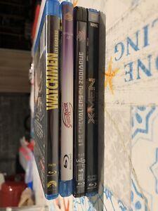 Lot 4 Films en Blu Ray, super héros, animation, science-fiction