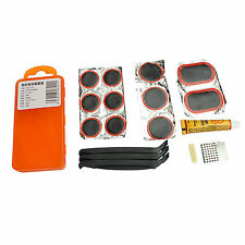 Bike Bicycle Cycling Tire Puncture Repair Tools Tyre Tube Patch Glue Lever Kit