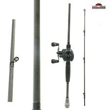 7' Lews Fishing Custom Black Medium Baitcasting Fishing Rod & Reel Combo ~ New
