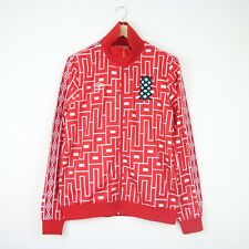 7b004ceb6d Umbro x Dr. Me1350 Diamond Icons Graphic Taped Track Jacket Top L Red BNWT  Mens
