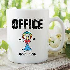 Ofensivo Mug Humor Novedad Divertida Oficina Payaso Funcionan Cumpleaños Cup