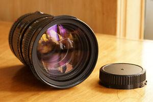 CANON FD 35-105mm f3.5 Zoom Lens Macro w/Canon Case Constant Aperture 1:3.5