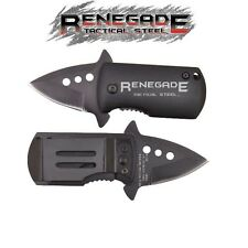 Renegade - Small Tactical Assisted Opening Knife w/ Pocket Clip RT124 New