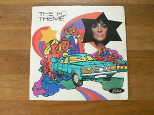 EP FORD THE T-C THEME, FORDS  LEADS THE WAY,TAUNUS,CORTINA,SAMANTHA JONES,VINYLB