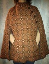 Vintage Dillad Coracle 100% Welsh wool cape