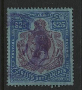 Straits Settlement #202 used