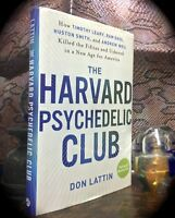 HARVARD PSYCHEDELIC CLUB: TIMOTHY LEARY ET AL ~ 2010 HC w/ D/J HALLUCINOGENS LSD