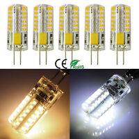 1/4/10x G4 LED Bi-Pin 48x3014 SMD 3W Light Bulb 20W T3 Halogen Lamps Equivalent
