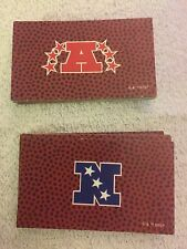 Lot 32 1998 Monopoly Cards NFL Football Edition AFC NFC Chance Comm Chest