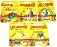 Northland Tackle Live Forage Crawler Spinners (Lot of 5-TS7)