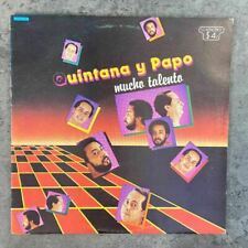 Ismael Quintana Y Papo Lucca – Mucho Talento [1984] Vinyl LP Latin Salsa Vaya