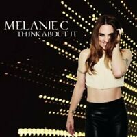 """MELANIE C """"THINK ABOUT IT"""" CD 2 TRACK SINGLE NEW"""
