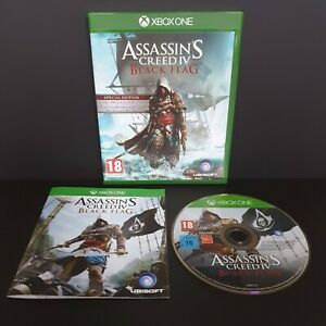 XBOX ONE Assassin's Creed IV (4) Black Flag -  Complete & Excellent Condition
