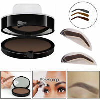 Eyebrow Shadow Definition Makeup Brow Stamp Powder Palette Natural STOCK NEW