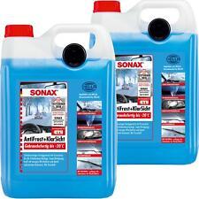 2x 5 Liter SONAX ANTIFROST+KLARSICHT CITRUS BIS ZU -20°C SCHEIBEN FROSTSCHUTZ
