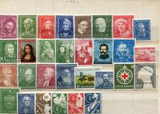 Sammlung BRD  * - aus 1951 - 1956- KW ca. 300,-- € ( 41283 )