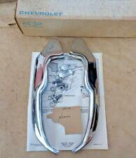 NOS 1965 Chevy Impala REAR BUMPER GUARD UNIT Original Chevrolet Accessory pair