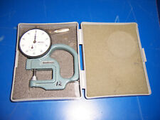 """11922 Mitutoyo 2412-08 dial gage 0.001"""" - 0.400"""""""