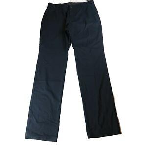 Under Armour Showdown Chino Pants Size 38 Black Straight Leg NWT Unhemmed