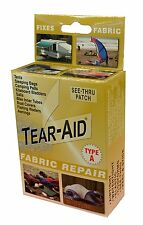 Tear-Aid D-BOX-A-100 See-Thru Repair Patch Kit for RV Camper Awnings - Type A