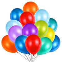 LATEX BALLOONS, ASSORTED COLOURS  Helium. Party, Birthday, Wedding, Christening