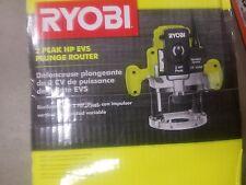 Ryobi 2 HP 10-Amp Plunge Base Router Variable Speed Spindle Lock  Ergonomic Hand