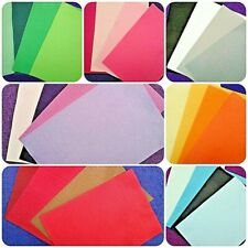 Soft Feel - 100 % Polyester Felt Squares x 8 with 4 shades per packet x £3.99