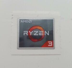 PC Sticker Genuine AMD Ryzen 3 Generation Gaming PC Case Laptop Sticker Decal