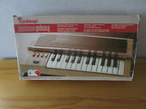 BONTEMPI Piano Orgue  Vintage en boite
