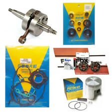 Kawasaki KX60 '85-'99 42.95mm Mitaka Engine Rebuild Kit Inc Crank Piston Gaskets