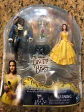 "Disney Beauty & the Beast Belle Live Action Movie Enchanted Rose Scene 4"" Figure"