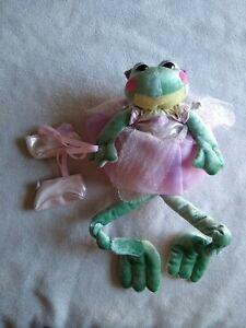 Plush First & Main Francesca Frog~ballerina~Bean Bag~2002