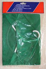 sac de rangement vert pour pince à linge