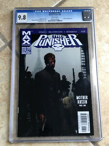 THE PUNISHER MAX #13 cgc 9.8 2005 Series NICK FURY Appearance - BRADSTREET Cover